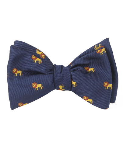 African Lion Self Bow Tie