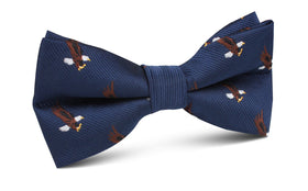 African Martial Eagle Bow Tie