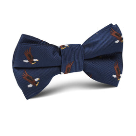 African Martial Eagle Kids Bow Tie
