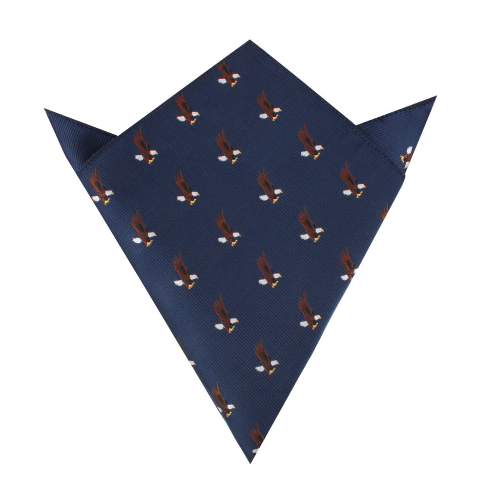 African Martial Eagle Pocket Square
