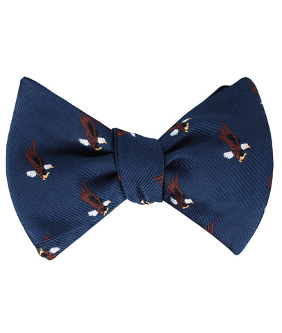 African Martial Eagle Self Bow Tie