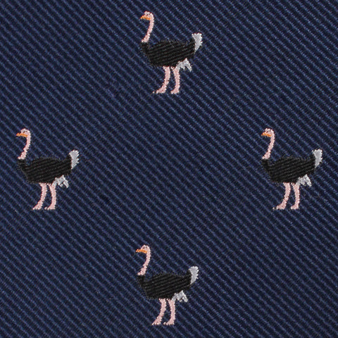 African Ostrich Pocket Square