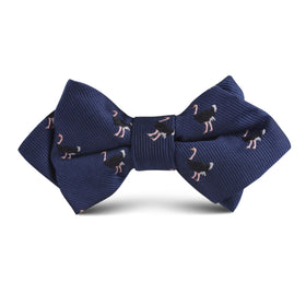 African Ostrich Kids Diamond Bow Tie