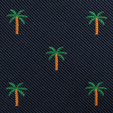 Aitutaki Palm Tree Pocket Square Fabric