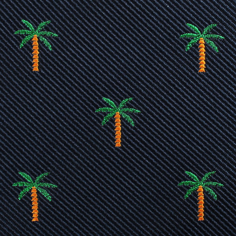 Aitutaki Palm Tree Pocket Square