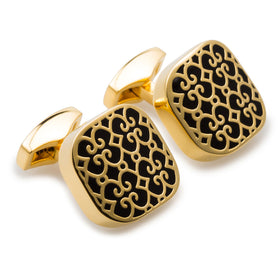 Al Pacino Gold Cufflinks