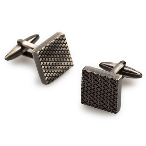 Alabasta Antique Silver Cufflinks
