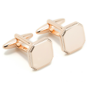 Alekos Fassianos Rose Gold Cufflinks