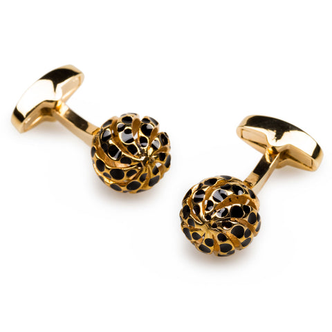 Alexander The Great Gold Cufflinks