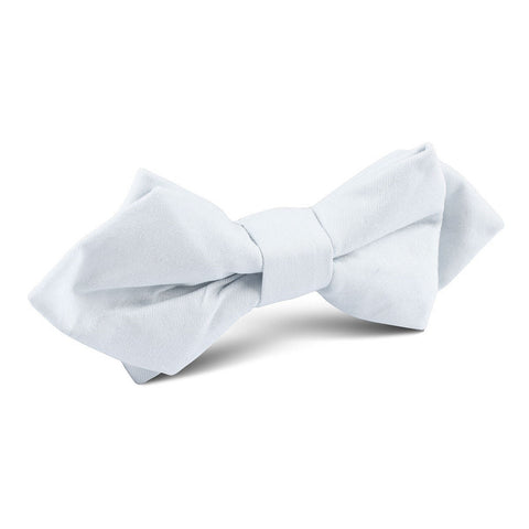 Alice Blue Cotton Diamond Bow Tie