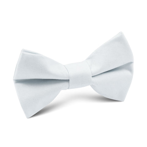 Alice Blue Cotton Kids Bow Tie