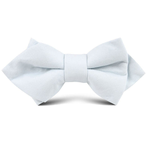 Alice Blue Cotton Kids Diamond Bow Tie