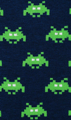 Alien Invader Socks