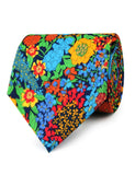 Amazonian Jungle Floral Neckties