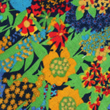 Amazonian Jungle Floral Pocket Square Fabric