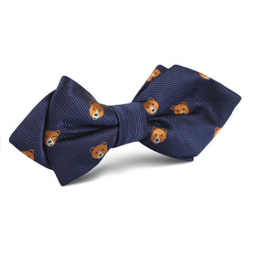 American Brown Bear Diamond Bow Tie