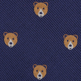 American Brown Bear Kids Diamond Bow Tie