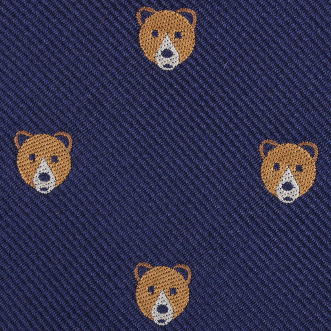 American Brown Bear Pocket Square