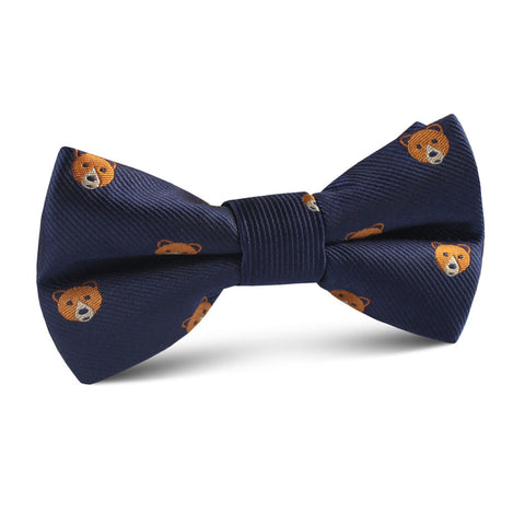 American Brown Bear Kids Bow Tie