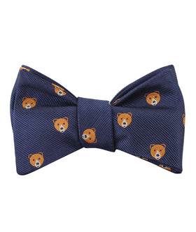 American Brown Bear Self Bow Tie