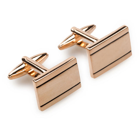 American Psycho Rose Gold Cufflinks