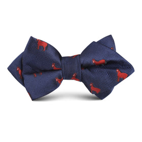 American Quarter Horse Kids Diamond Bow Tie