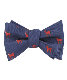 American Quarter Horse Self Bow Tie