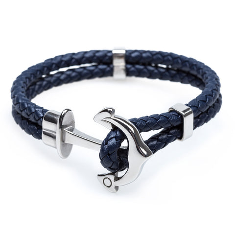 Anchor Navy Bracelet