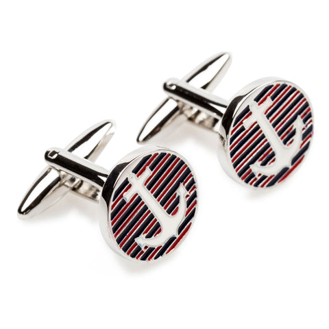 Anchor Shield Cufflinks