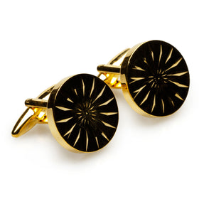 Andy Warhol Gold Cufflinks