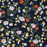 Anemone Floral Fabric Kids Diamond Bow Tie