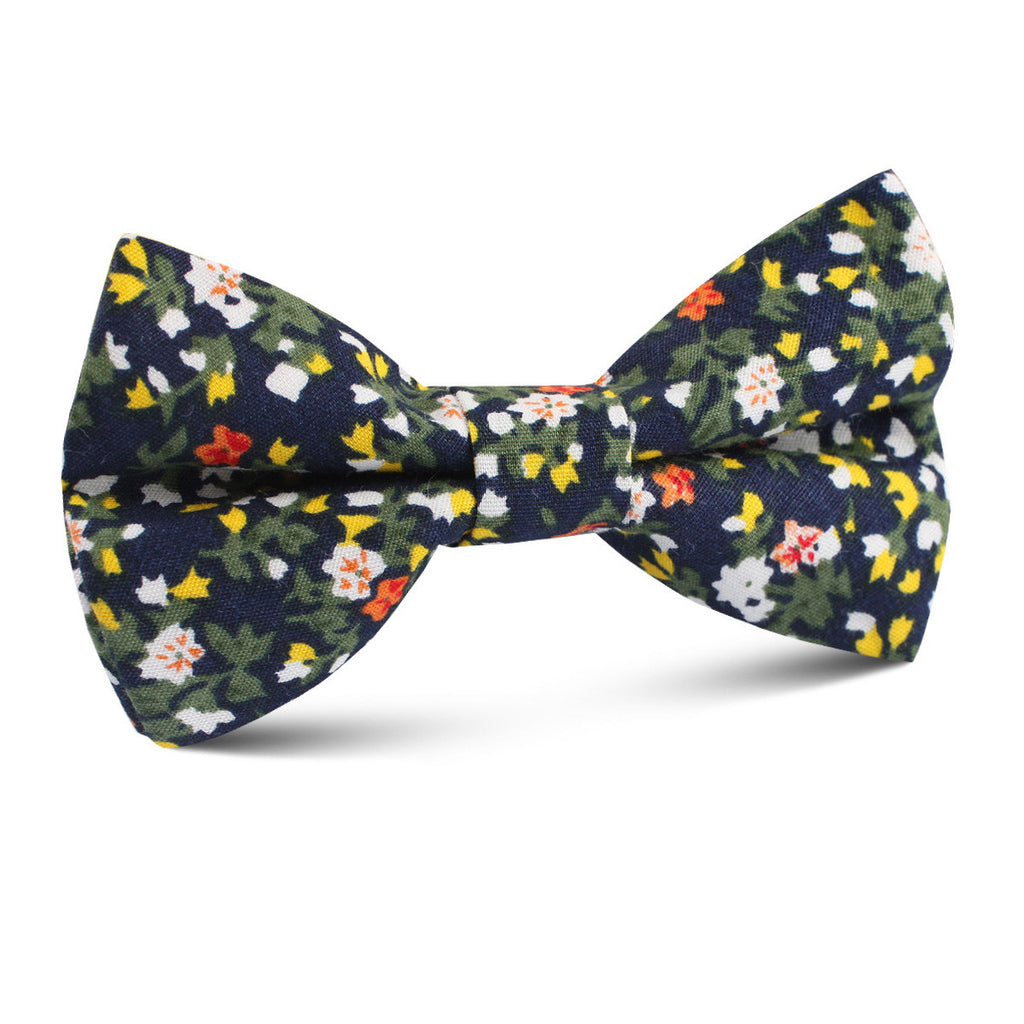 Anemone Floral Kids Bow Tie