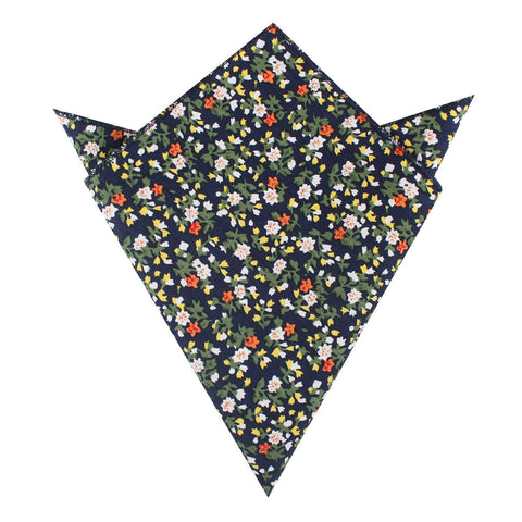 Anemone Floral Pocket Square