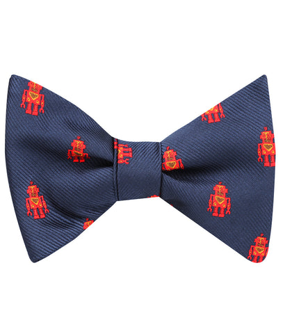 Angry Robot Self Bow Tie
