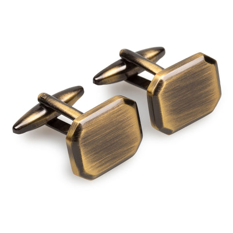 Antique Brass Octavia Cufflinks