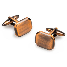 Antique Copper Octavia Cufflinks