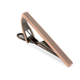 Antique Copper Stippled Tie Bar