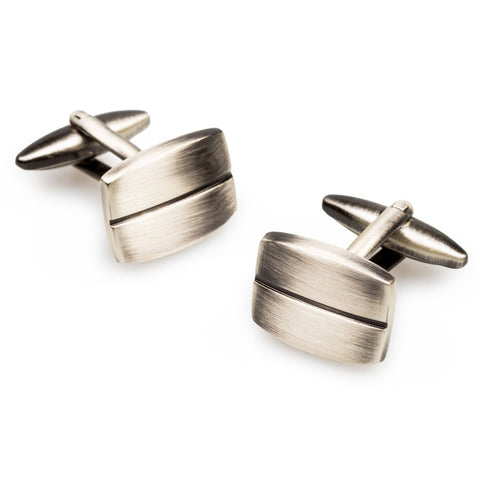 Antique Silver De Niro Cufflinks