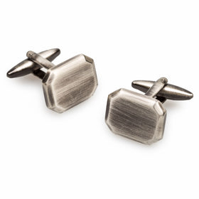 Antique Silver Octavia Cufflinks