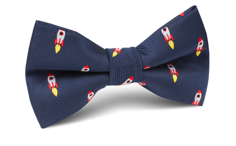 Apollo Space Rocket Bow Tie