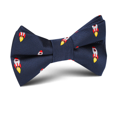Apollo Space Rocket Kids Bow Tie