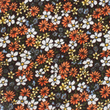 Arancia Bruciata Floral Pocket Square Fabric