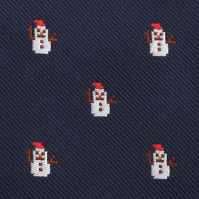 Argentinian Snowman Pocket Square