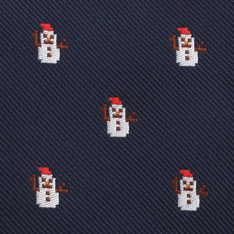 Argentinian Christmas  Snowman Pocket Square