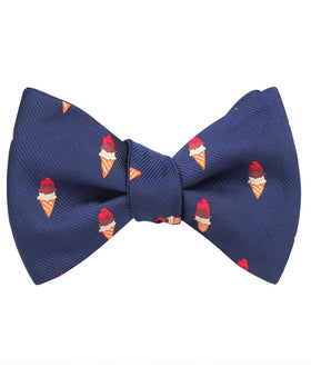 Artemy Ice Cream Self Bow Tie