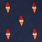 Artemy Ice Cream Skinny Tie Fabric