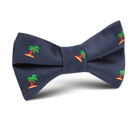 Aruba Palm Tree Kids Bow Tie