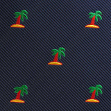 Aruba Palm Tree Kids Bow Tie Fabric