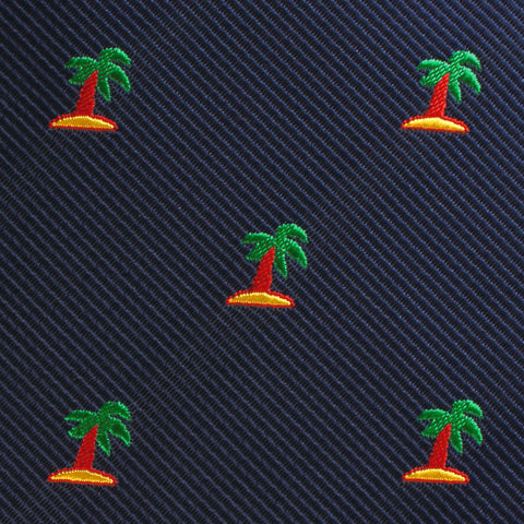 Aruba Palm Tree Pocket Square