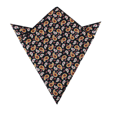 Azerbaijan Paisley Pocket Square